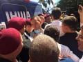 Под зданием Минюста произошла потасовка между сторонниками Саакашвили и полицией