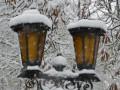 Ивано-Франковск засыпало снегом (фото)