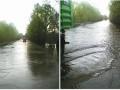 Паводок в Черниговской области ограничил движение легковых автомобилей