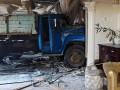 В Киеве грузовик протаранил кафе