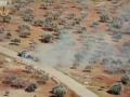 На видео сняли бой БМП и танка в Сирии