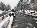 В Киеве впервые ремонтируют Чернобыльскую улицу