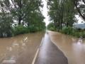 На трех трассах Закарпатья ограничено движение из-за подтоплений