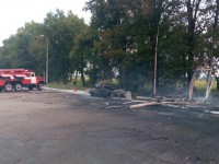 Под Киевом произошел взрыв на АЗС, погиб мужчина