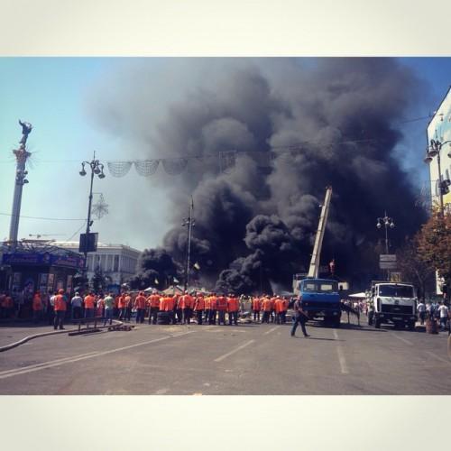 Разборки на Майдане