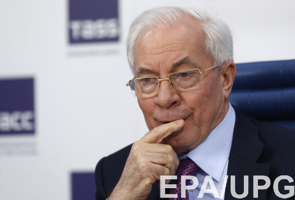 Активы Азарова никто не размораживал - ГПУ