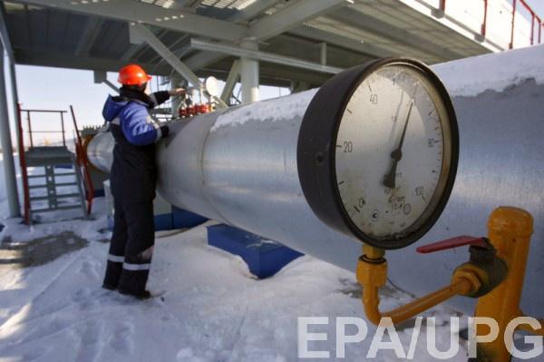 Запасы газа вукраинских хранилищах возросли