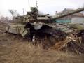 Под Мариуполем подбили танк с российскими военными – СМИ