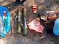 На Донбассе возле бывшей базы отдыха нашли схрон с оружием