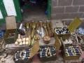 В Донецкой области милиция обнаружила арсенал боеприпасов в частном доме