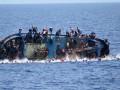 У берегов Ливии затонула лодка со 120 мигрантами