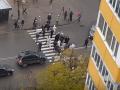 В Киеве жители района перекрыли трассу в знак протеста