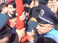 В Черкассах на 9 мая произошла стычка из-за красного флага