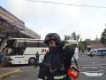 В Одессе горел центральный автовокзал