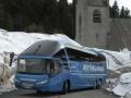 В Германии водитель автобуса попросил пассажиров заплатить за бензин