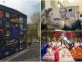День в фото: новая банкнота, мурал в Киеве и цветочный фестиваль в Португалии