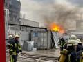 В Киеве произошел пожар на химзаводе Укроргсинтез