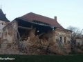 Во Львовской области обвалилась стена Поморянского замка