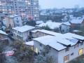 Киев засыпало первым снегом: Фото