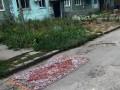 В Запорожье ямы на дороге ремонтируют коврами