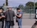 Появились видео с места убийства трех человек на АЗС в Николаеве
