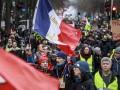 Протесты в Париже собрали более четырех тысяч человек