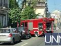В центре Киева горел ресторан, госпитализирована женщина