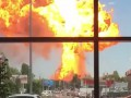 В Волгограде произошел мощный взрыв на АЗС