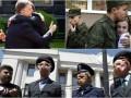 День в фото: Порошенко с Киской, крымские призывники и