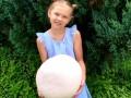На фото показали гигантский гриб, который вырос на Волыни