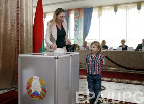 Президент республики Белоруссии проголосовал напарламентских выборах