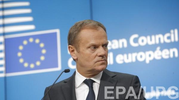 По словам Туска, Соглашение  продолжает имплементироваться на временной основе.