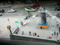 В Киеве вместо памятника Ленину установили арт-инсталляцию