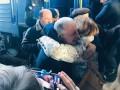 Политзаключенный журналист Николай Семена прибыл из Крыма в Киев
