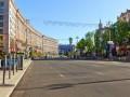 Центр Киева на майские праздники станет пешеходным