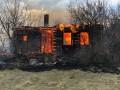 В селе под Житомиром целая улица сгорела из-за поджога травы