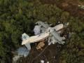 Мэр Львова об аварии Ан-12: Кабина пилота срезана, фрагменты тел разбросаны
