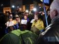 В годовщину Майдана полиция снесла палатки активистов