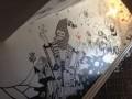 В центре Киева энтузиасты художественно разрисовали стены трех этажей