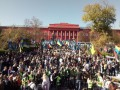 В Киеве проходит марш националистов
