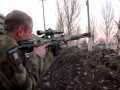 Снайпер оккупантов ранил украинского военного на Луганщине - штаб