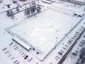 В Вильнюсе под тяжестью снега рухнул купол нового спортманежа