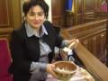 Матиос принесла однопартийцам в Раду вареники и пирожки
