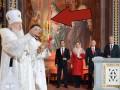 У патриарха Кирилла во время пасхального богослужения погасли свечи