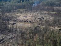 Появились фото складов в Калиновке после взрыва