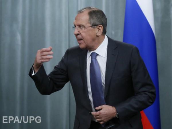"""Лавров назвал обвинения Путина в коррумпированности """"надуманными и беспардонными"""""""