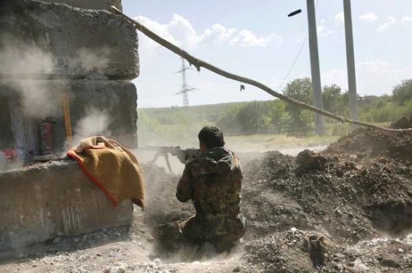 В зоне АТО зафиксирован спад активности оккупантов