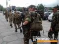 СМИ: Военные пешком передислоцируются из Запорожья в Мариуполь