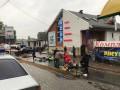 Под Киевом полицейский въехал в остановку, есть жертвы