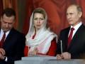 Патриарх Кирилл подарил Путину и Медведеву пасхальные яйца